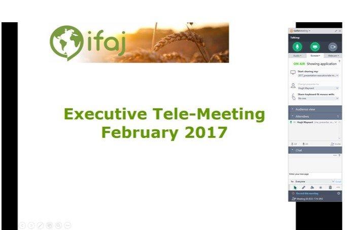 IFAJ telemeeting